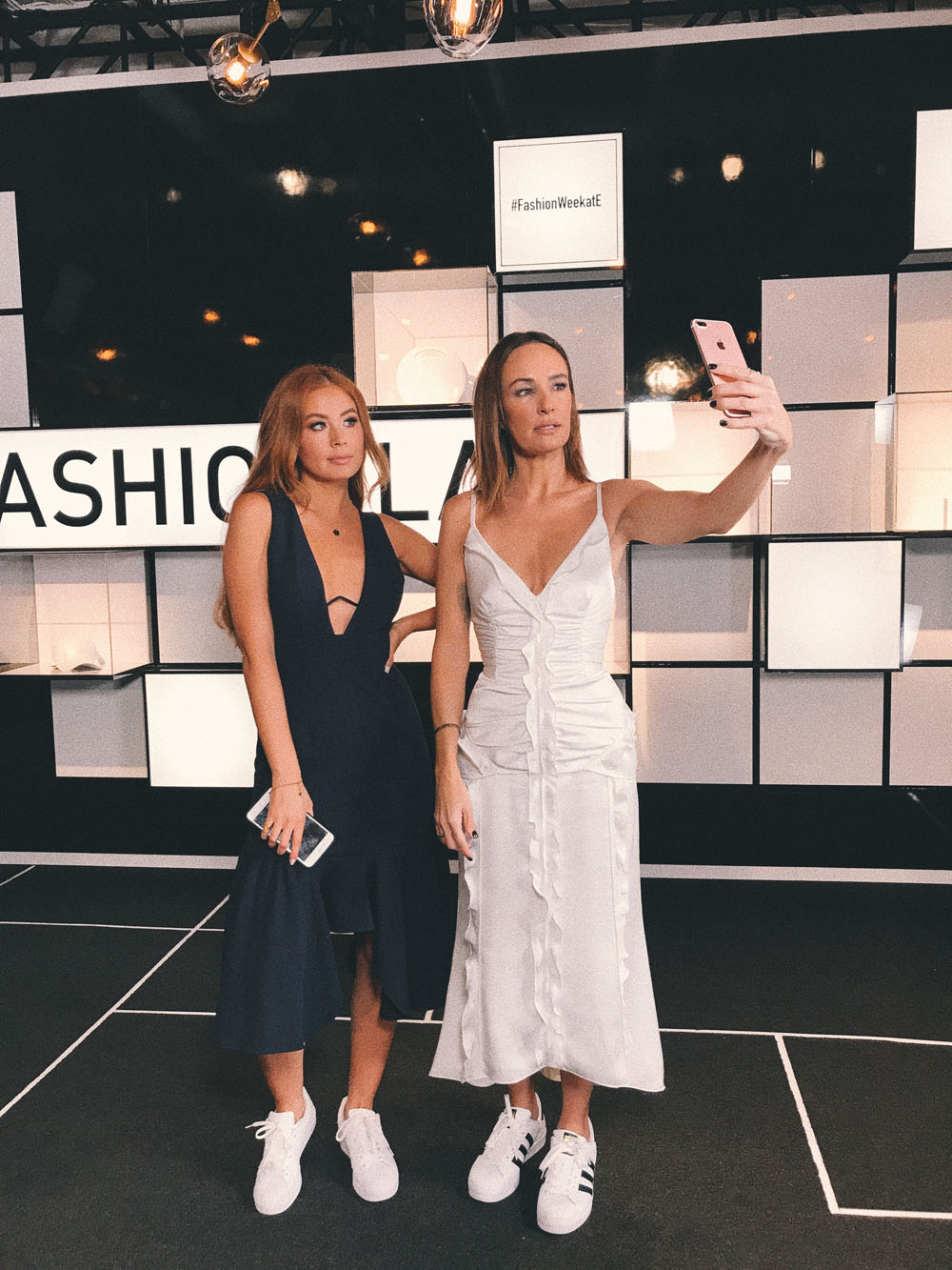 Catt Sadler Yvette King NYC Fashion Week E News