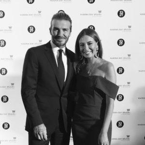 David Beckham Yvette King