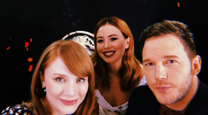 INTERVIEW | CHRIS PRATT & BRYCE DALLAS HOWARD